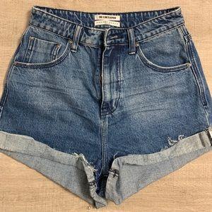 NWOT One Teaspoon Jean Shorts 26